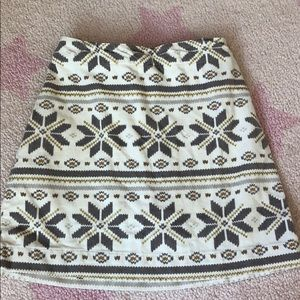 Gymboree velour skirt